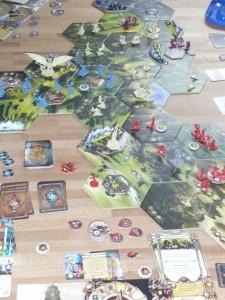Runewars im Laufe des Spieles