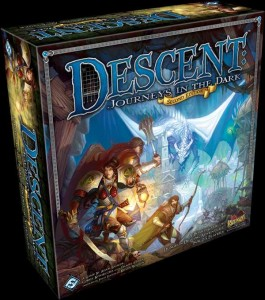 Descent 2nd Edition Box Art