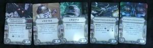 X-Wing Ausrüstungskarten