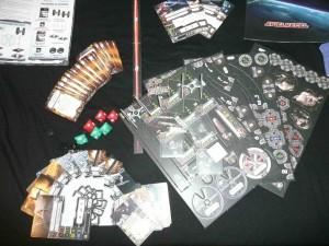SW: X-Wing Komplettinhalt