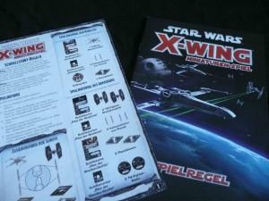 X-Wing Regelbuch und Schnellstartregeln