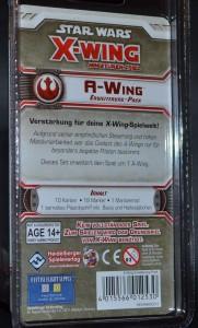 Der A-Wing Blister Rückseite