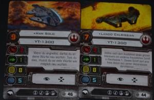Aber auch Lando und vor allem Han Solo...