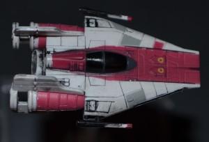 A-Wing von oben