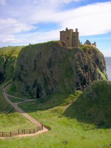 Fast wie Cheops: Dunnottar Castle (Fotografiert von Macie Clew)