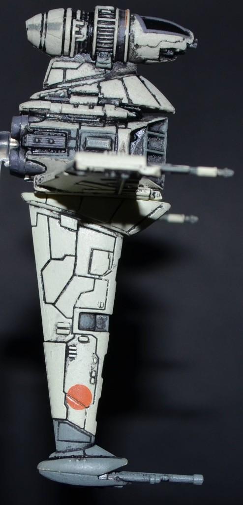 B-Wing Seitenansicht
