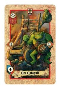 Das Ork-Katapult, eine Fernkampfeinheit