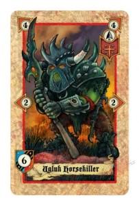 Eine Ork-Kommandoeinheit
