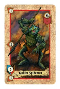 Ein Goblin, eine der Unterstützereinheiten der Orkarmee