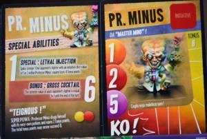 Einer der Charaktere aus der GRundbox: Dr. Minus