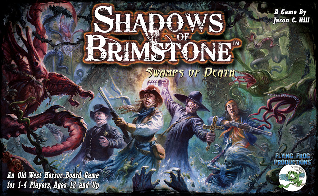 Shadows of Brimstone Cover