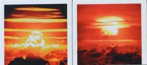 HIer erfreuenRedwing Dakota (25. Juni / Marshallinseln) und  Castle Bravo (28.Februar an gleicher Stelle) unsere Augen
