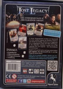 Die Rückseite von Lost Legacy