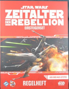 Star Wars: Zeitalter der Rebellion Einsteigerbox - Das Regelheft