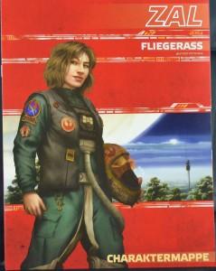 Star Wars: Zeitalter der Rebellion Einsteigerbox - Zal, das Fliegerass Charakterbogen
