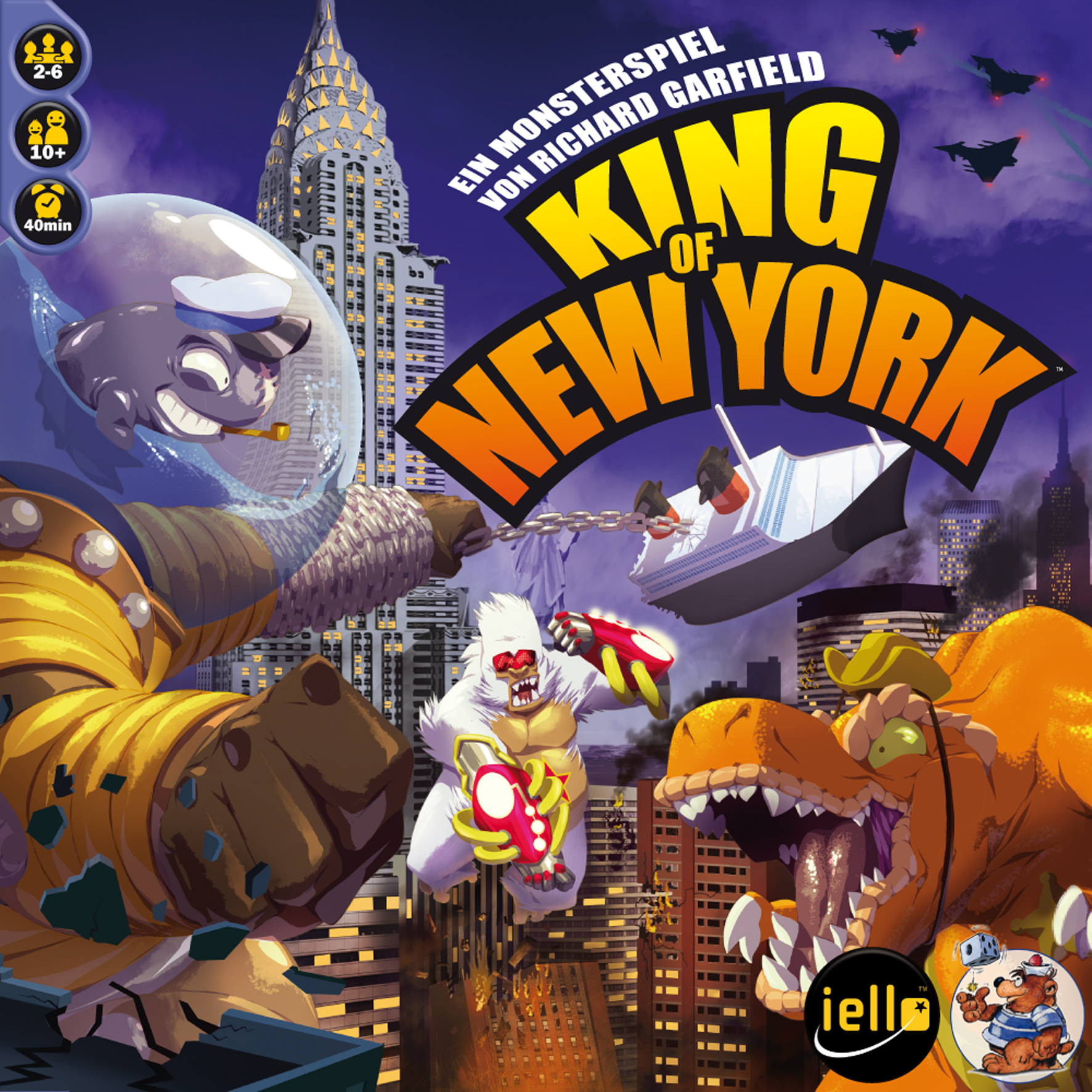 King of New York Cover