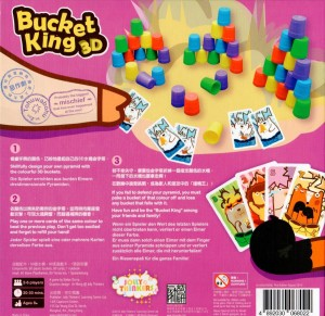Bucket King 3D - Das Backcover