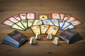 Mara und der Feuerbringer - Spielmaterial