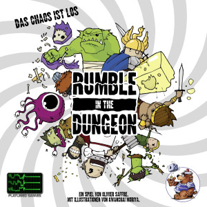 Rumble in the Dungeon - Das Cover