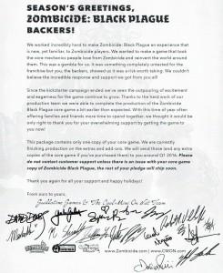 Black Plague Letter