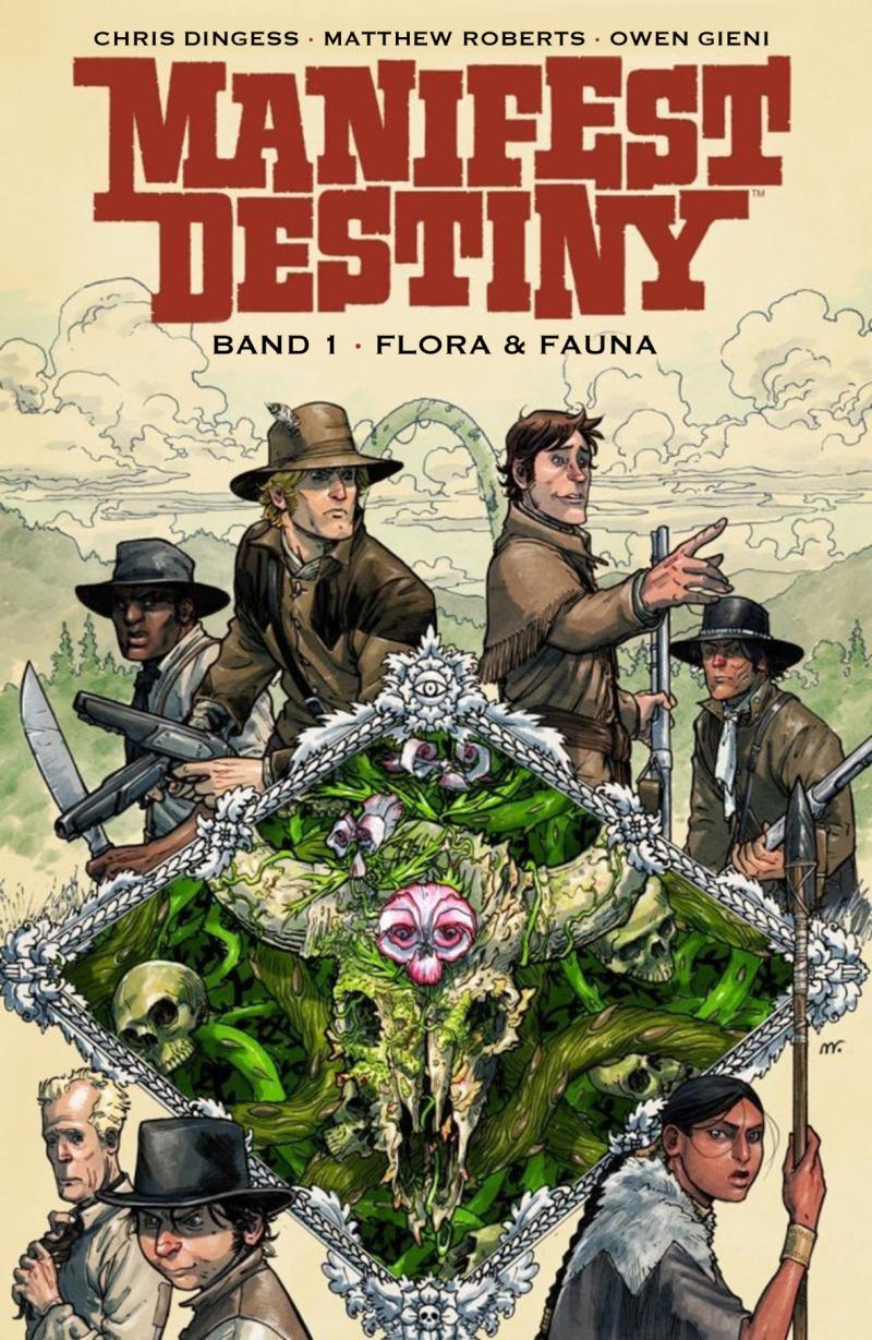 Manifest Destiny - Cover