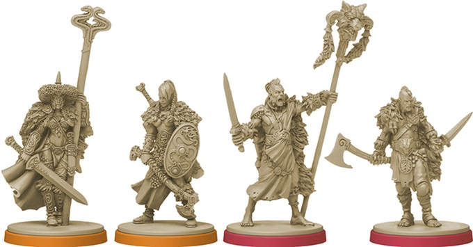Blood Rage Painted Minis For Sale
