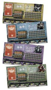 Xibalba Player Boards