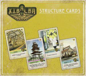 Xibalba Gebäudekarten