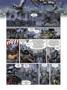 Ork-Saga: Zwei Brüder - Eine Beispielseite