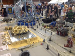 Eine modulare Spaceplatte