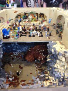 Jabbas Palast samt Rancor