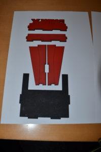 Turbo Laser Dice Tower Baugruppe 1