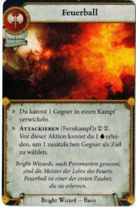 Warhammer Quest - eine Kampfkarte