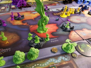 Cthulhu Wars: Cthulhu reigns the world