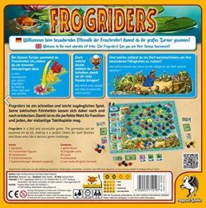 Frogriders Boxrückseite