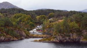 Norwegen - Fjord vor Bergen