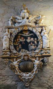 Epitaph in der Domkirke