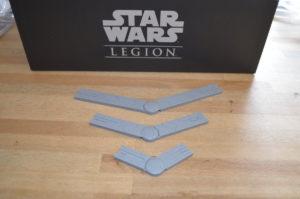 Star Wars - Legion Die Bewegungsschablonen