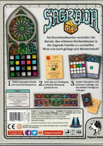 Sagrada - Backcover