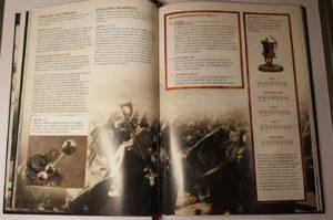 Abb. 7: Das Regelwerk ist logisch aufgebaut mit vielen Infokästen und stimmungsvollen Bildern der Herr der Ringe- und Hobbit-Filme (Die Schlacht auf den Pelennor-Feldern)