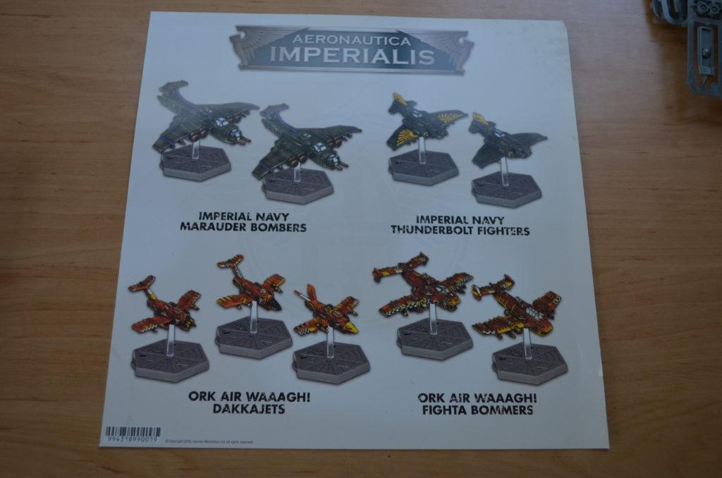 Aeronautica Imperialis - Die Flieger in der Box