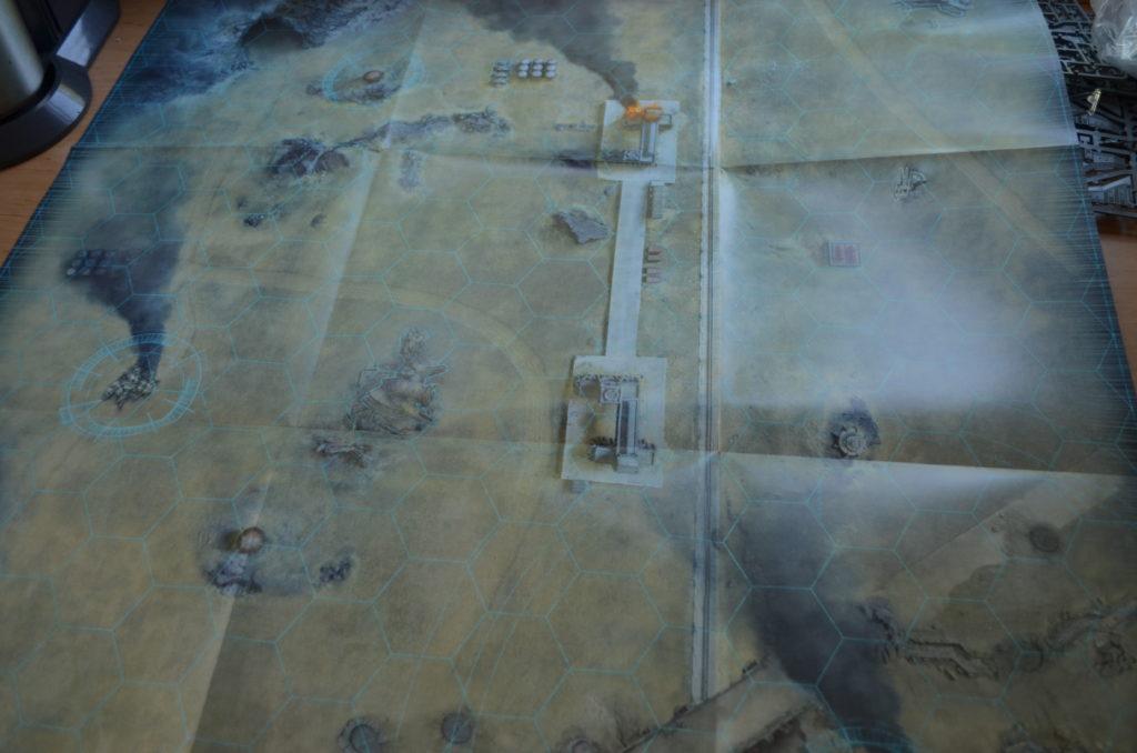 Aeronautica Imperialis - Spielplan Seite A