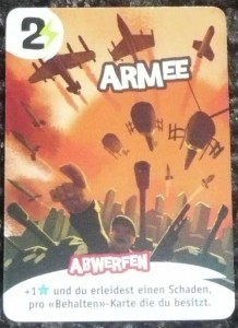 Promokarte Armee