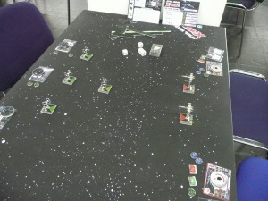 Gaming Table X-WIng