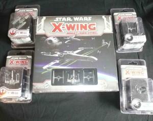 X-Wing: DIe komplette first Wave