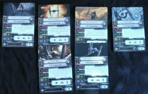 X-Wing Imperiumspiloten
