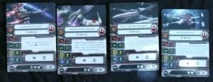 X-Wing Allianz Pilotenkarten