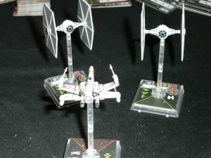 X-Wing Spielsituation