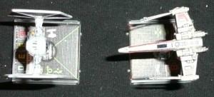 X-Wing Aufsicht