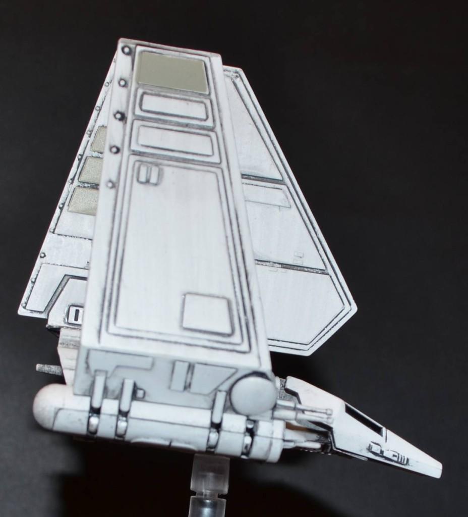 Lambda Shuttle Seitenansicht